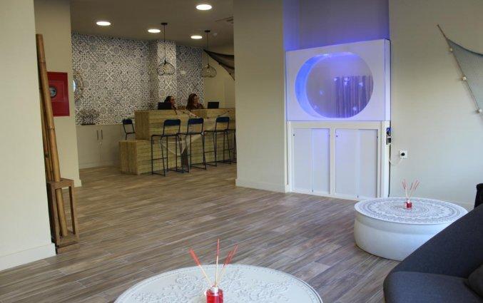 Lobby van hotel Casual Malaga del Mar in Malaga