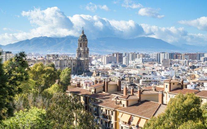 Malaga - Uitzicht kathedraal