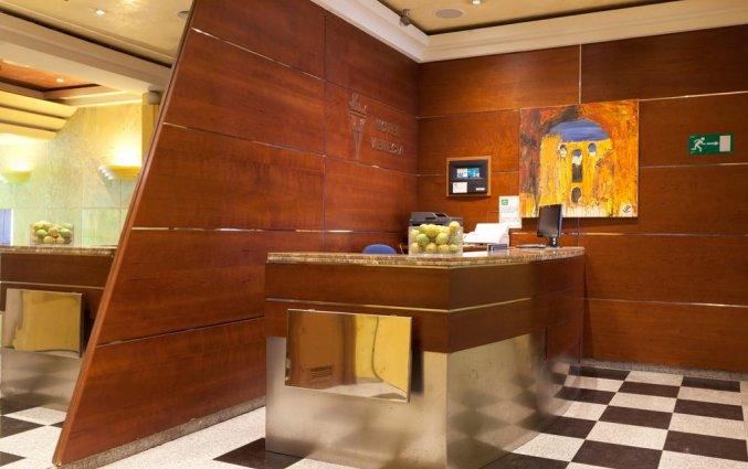 Receptie van Hotel Venecia in Malaga