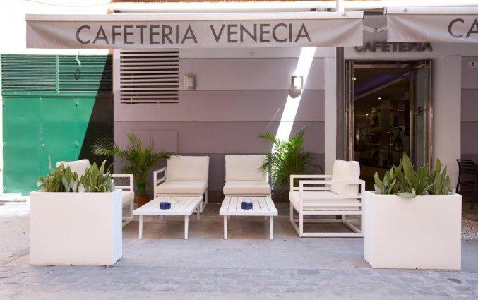 Cafetaria van hotel Venecia in Malaga