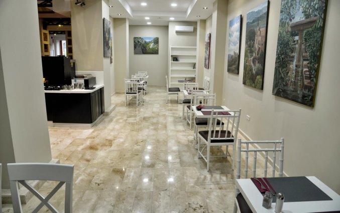 Ontbijtzaal van Hotel Atarazanas Boutique in Malaga