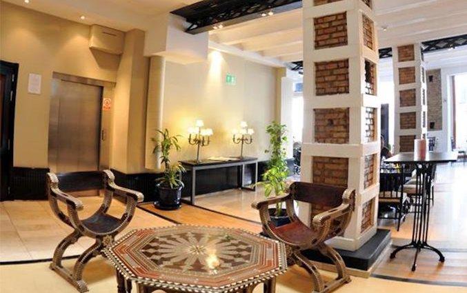 Lobby van Hotel Atarazanas Boutique in Malaga