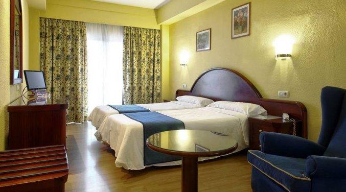 Tweepersoonskamer van Hotel Soho Boutique Las Vegas in Malaga