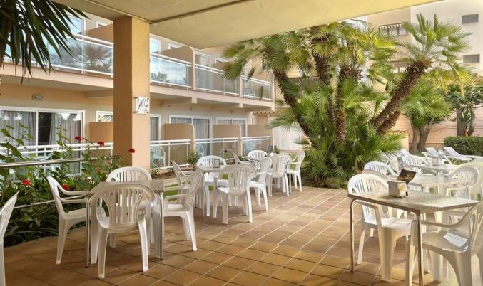 Zonneterras van Hotel Soho Boutique Las Vegas in Malaga