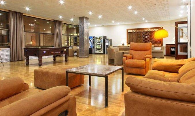 Lounge van Hotel Soho Boutique Las Vegas in Malaga
