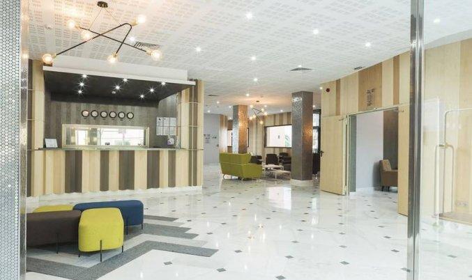 Receptie van Hotel Soho Boutique Las Vegas in Malaga
