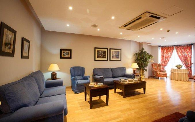 Lounge van Hotel Don Paco in Malaga