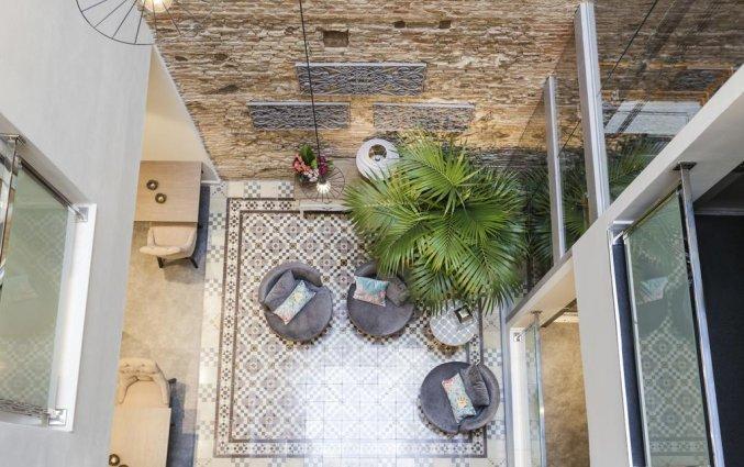 patio Hotel Palacete de Alamos