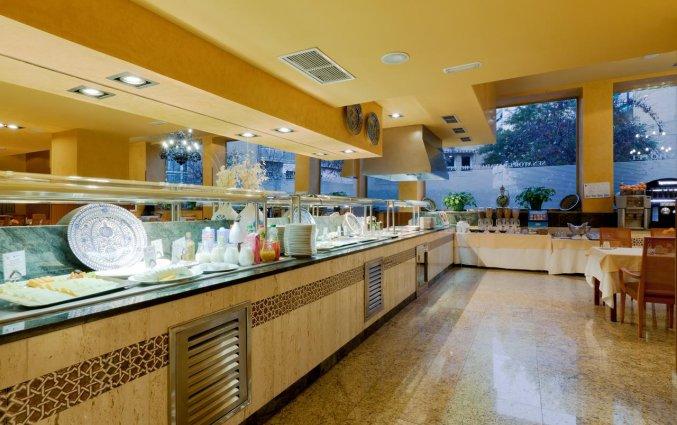 Buffet van Hotel Senator Granada Spa in Andalusie