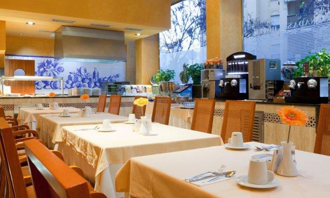 Restaurant van Hotel Senator Granada Spa in Andalusie