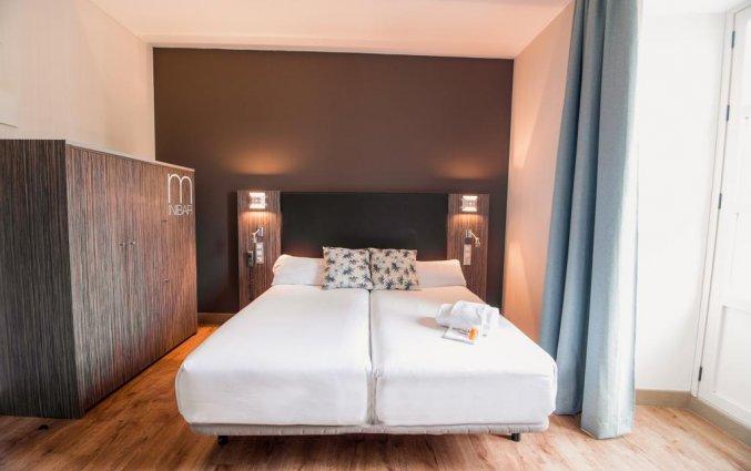Tweepersoonskamer van Hotel Petit Palace Santa Cruz in Sevilla