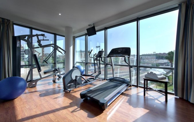Hotel Exe Sevilla Palmera Fitnessruimte