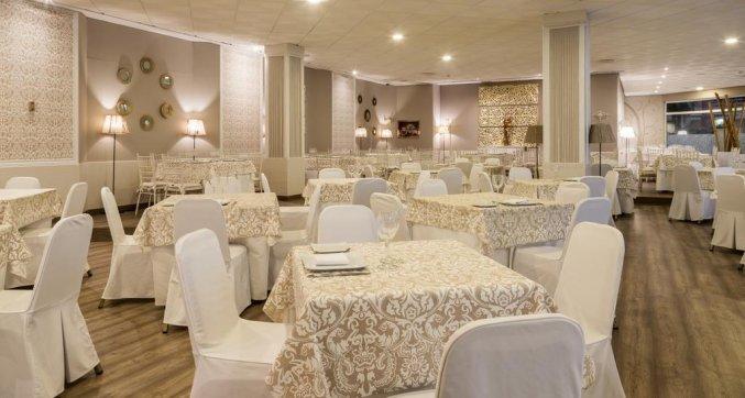 Restaurant van Hotel Alcora in Sevilla