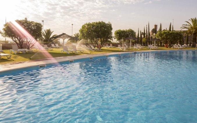 Zwembad van Hotel Alcora in Sevilla