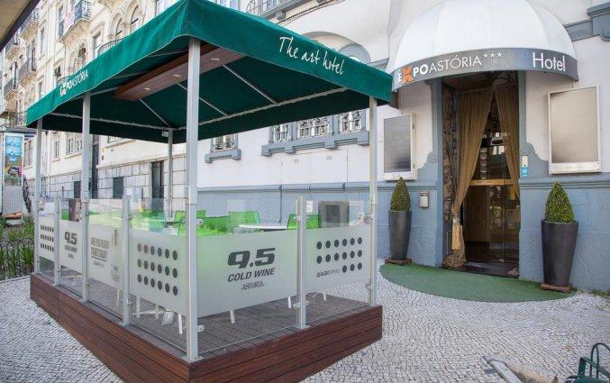 Terras hotel Expo Astoria in Lissabon