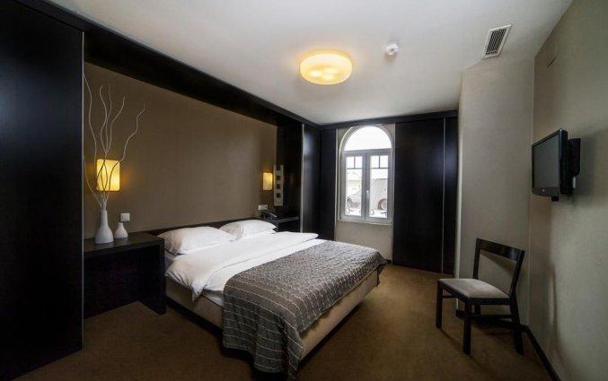 Slaapkamer hotel Expo Astoria in Lissabon