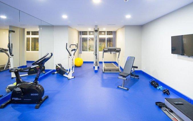 Fitnessruimte hotel Expo Astoria in Lissabon