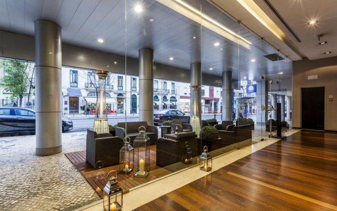 Lounge van Hotel Czar Lisbon in Lissabon