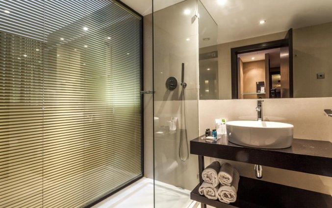 Badkamer van een tweepersoonskamer van Hotel Czar Lisbon in Lissabon