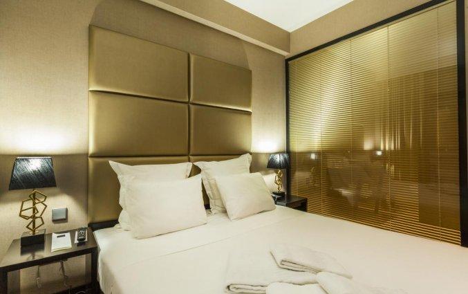 Tweepersoonskamer van Hotel Czar Lisbon in Lissabon