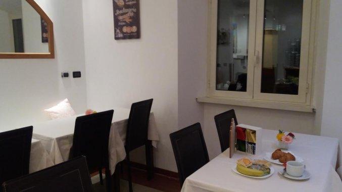 Ontbijtzaal van Hotel Louisiana in Rome