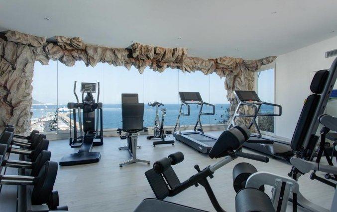 Fitnessruimte van Hotel Lloyd's Baia in Amalfi