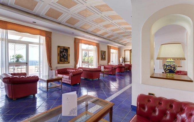 Lobby van Hotel Lloyd's Baia in Amalfi