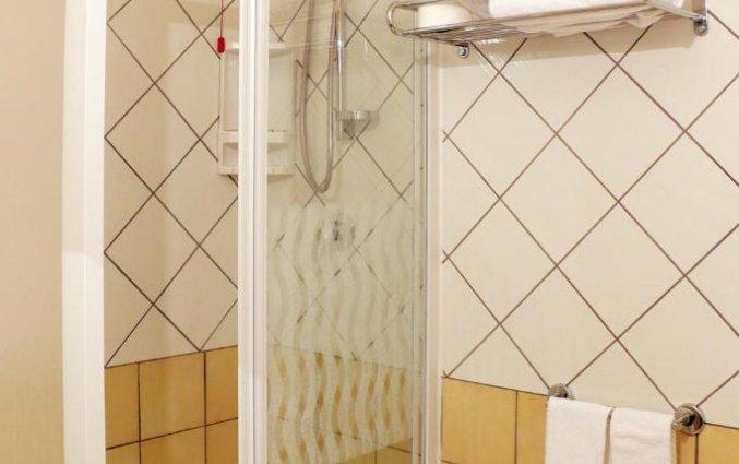 Badkamer van tweepersoonskamer van hotel Ancora in Amalfi
