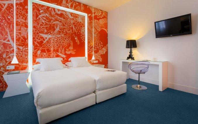 Tweepersoonskamer van Hotel Room Mate Mario in Madrid