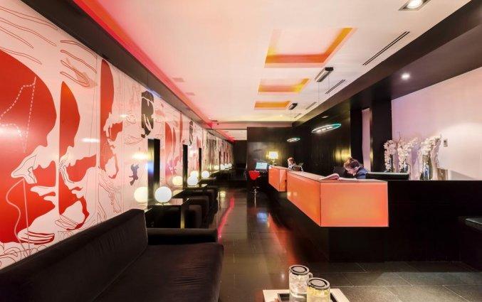 Lobby van Hotel Room Mate Mario in Madrid