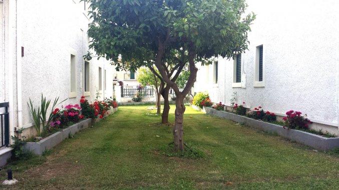 Tuin van Appartementen Corifo Village Corfu
