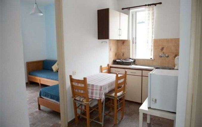 Kitchenette van appartement van Appartementen Corifo Village Corfu
