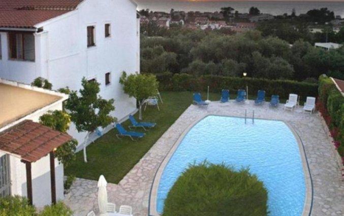 Overview van Irene Apartments op Corfu