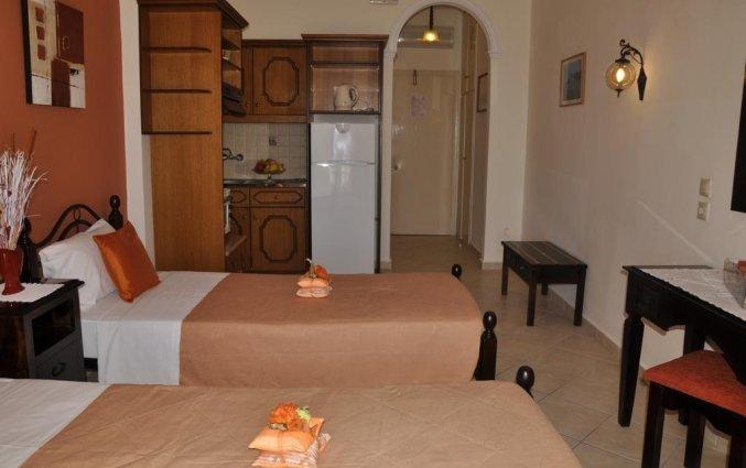 Studio van Appartementen Mazis op Corfu