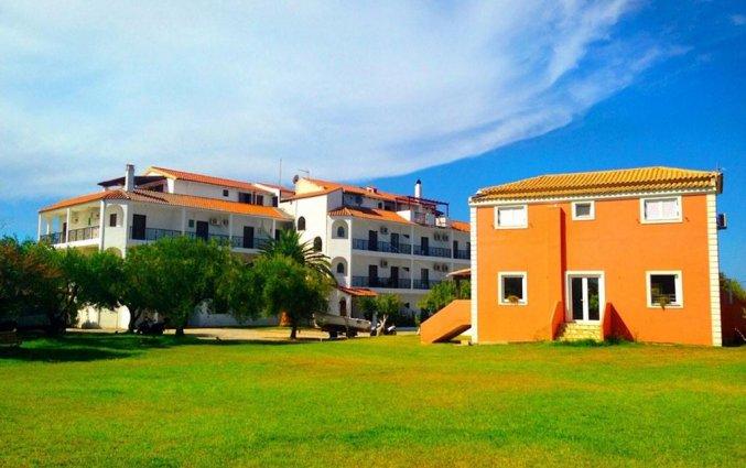Tuin van Hotel Ccb Bruskos op Corfu