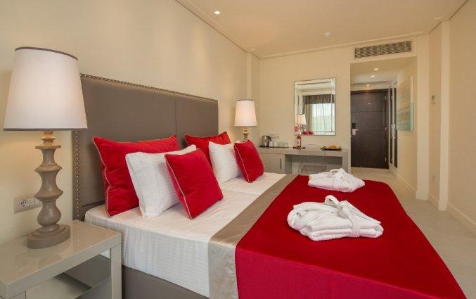 Kamer van Hotel Rodostamo op Corfu