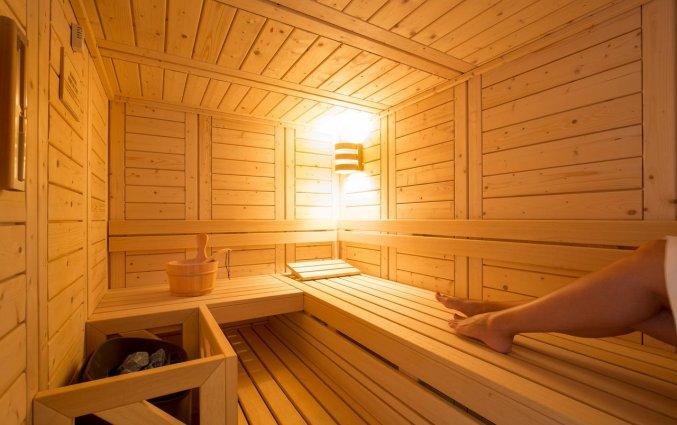 Sauna van Hotel Rodostamo op Corfu