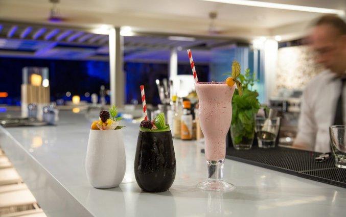 Bar van Hotel Rodostamo op Corfu