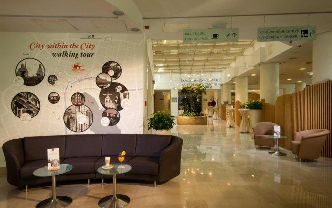 Lobby van Hotel City inn Ljubljana