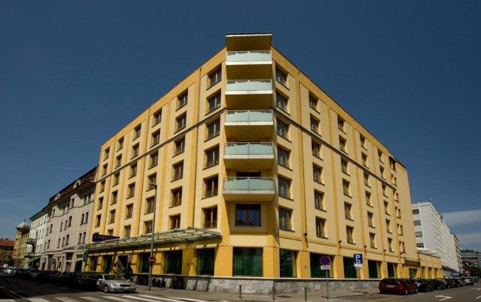 Gebouw van Hotel City inn Ljubljana