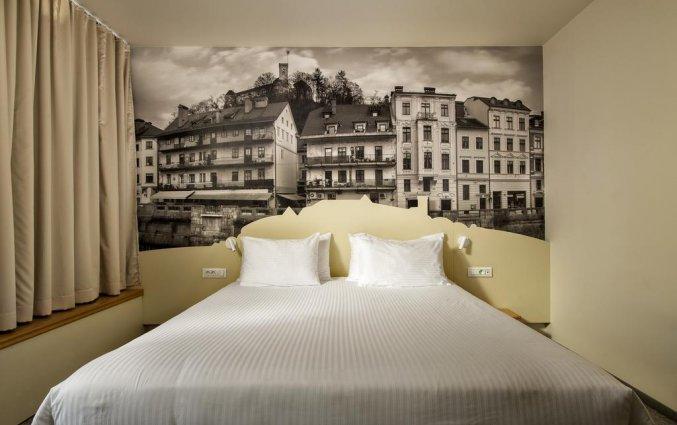 Tweepersoonskamer van Hotel City inn Ljubljana