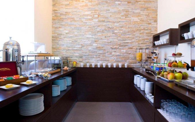 Ontbijt van hotel Ahotel in Ljubljana