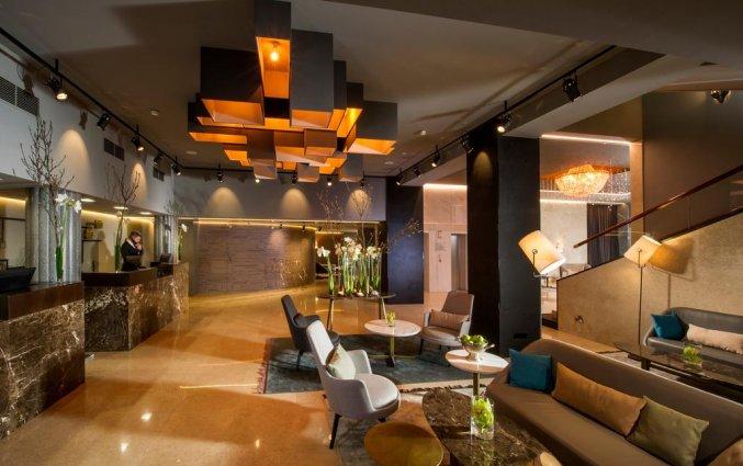 Loung en lobby van hotel Best Western Premier Slon in Ljubljana