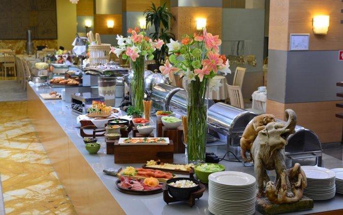 Ontbijtbuffet van hotel Best Western Premier Slon in Ljubljana
