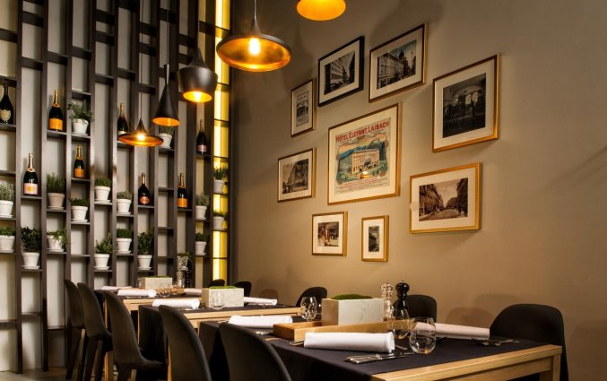Restaurant van hotel Best Western Premier Slon in Ljubljana