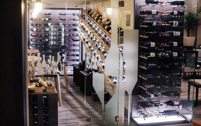 Wijn van Hotel Lev in Ljubljana