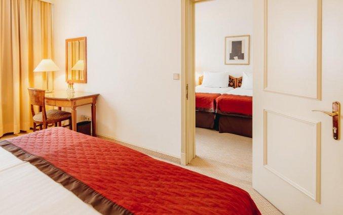 Tweepersoonskamer van Hotel Lev in Ljubljana