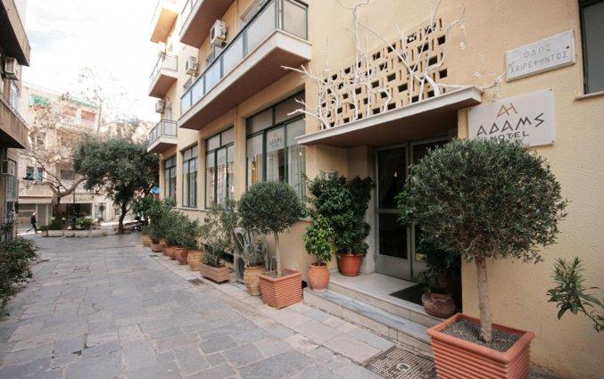 Entree van Hotel Adams in Athene