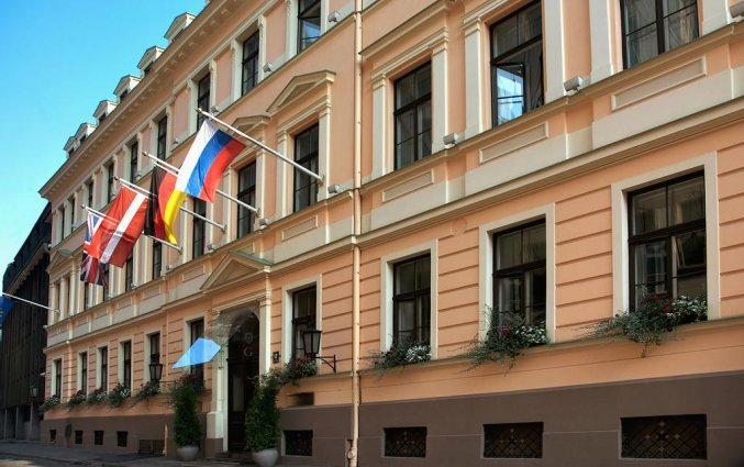 Hotel Grand Palace Riga voorkant