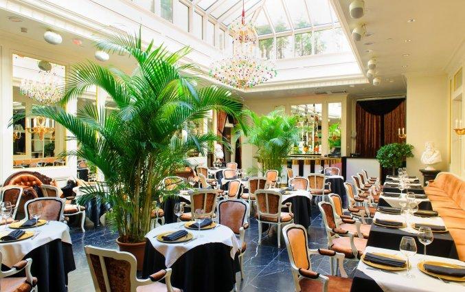 Restaurant van Grand Palace hotel stedentrip Riga